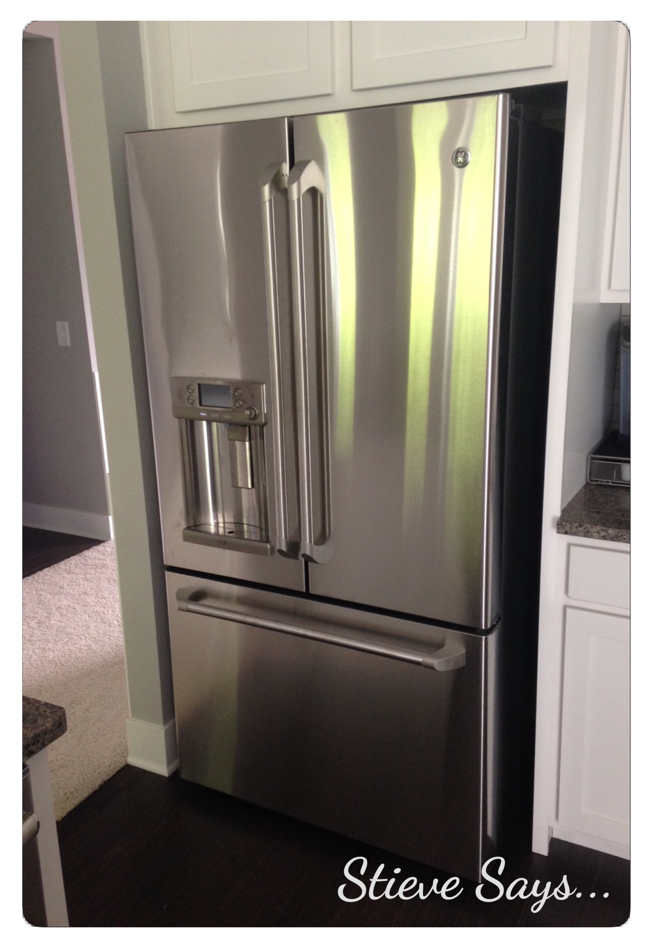 A rundown of our appliance selections stieve says fullsizerender 2 ge cafe series 221 cu ft counter depth french door rubansaba